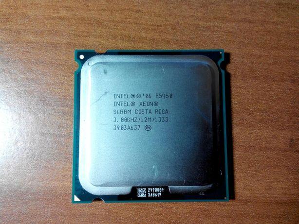 Процессор Xeon E5450 Q9650 подготовленный 4 ядра
