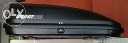 box dachowy SPORTAC 420 idealny na hatchbacka Wrocław Kromera 6