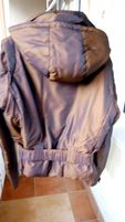 Терміново! Жіноча куртка пуховик.пальто на пуху M. 46 розмір!