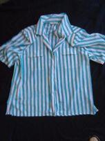 rozm 48 przewiewna koszulowa bluzka