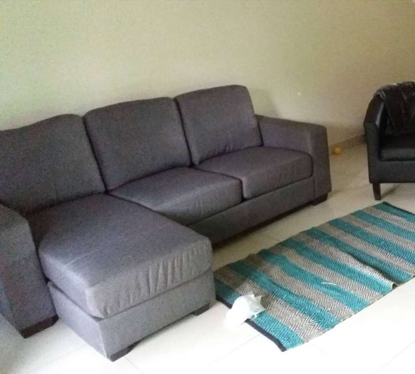 L shaped couch 0