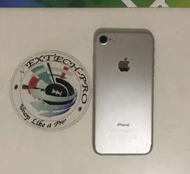 Apple iphone 7 (silver) 128gig