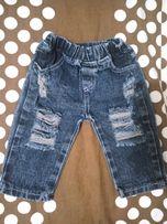 Продам стильные джинсы на д/м 6-9 мес