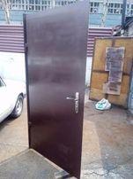 Двери входные 2500 грн металлические стальные бронидвери б\у Дешево!