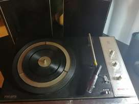 All Transistor stereo phillips 604 record player