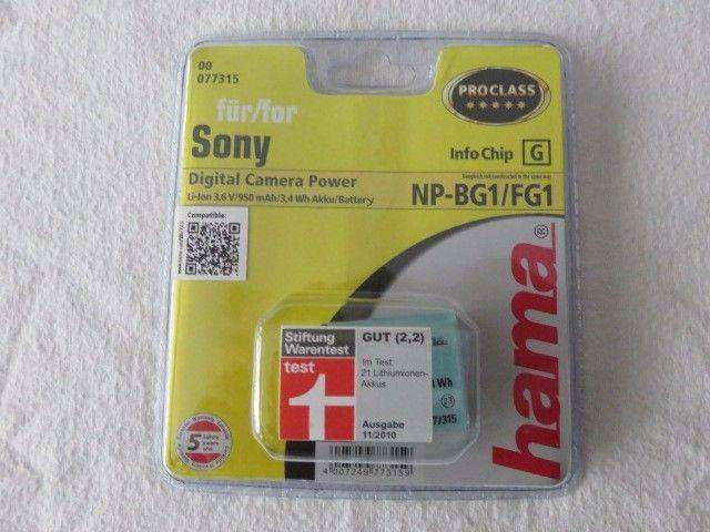 NP-BG1_FG1 Replacement battery Sony Cameras