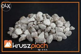 Żwir Kwarcowy Biały od 8 do 16 mm 8-16 ozdobny Piasek Kamień Dolomit