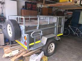 light rugged off road trailer
