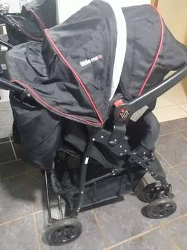 Little me pram and car seat in good condition