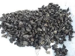 Grys żwirek piasek BAZALTOWY akwarystyczny czarny, bazalt 8-11mm