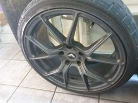 Beautiful mags and tyres for sale!!