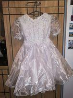 Детское платье нарядное на девочку 3-4годика