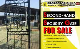 Second hand security gate FOR SALE