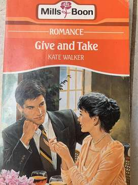 Mills & Boon : Give and take