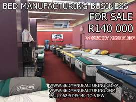 bed business for sale