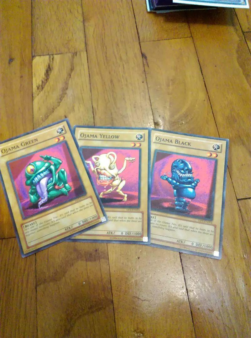 Yugioh vse 3 ojama karte 0
