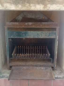 Built -In Fireplace