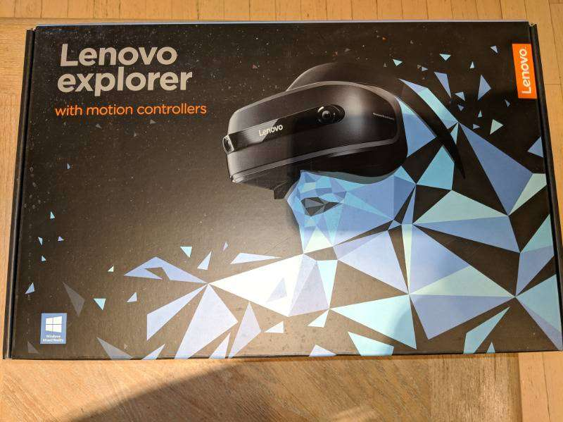 Lenovo Explorer MR Headset with Motion Controllers 0