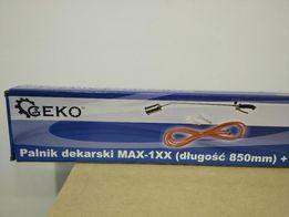 Palnik dekarski 850mm + wąż 5m Geko MAX-1XX
