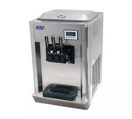 BEIQI Ice Cream Machine Double Flavor Counter Top