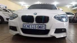 BMW 1series 125i Hatchback automatic White colour