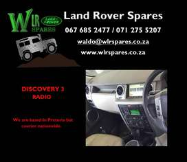 Land Rover Used Spares - Discovery 3 Radio