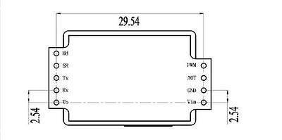 Инфракрасный датчик углекислого газа CO2 MH-Z19 (MH-Z19B) Запорожье - изображение 6