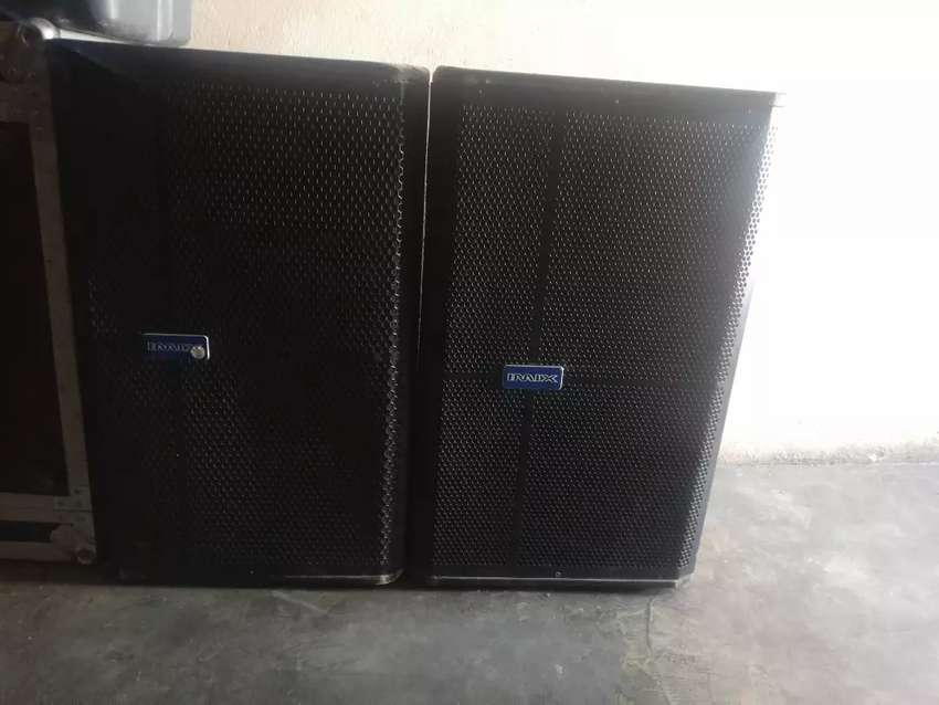 2x Imix top speakers 350W 0