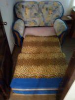 Мягкое кресло диван- кравать раскладывающееся 1,5 м х 2,4 м