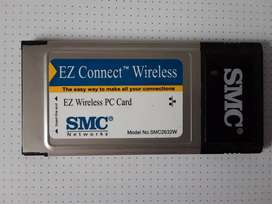 EZ Connect Wireless PC Card 11 Mbps data rate – provides alternative