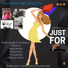 Mia's amazing products