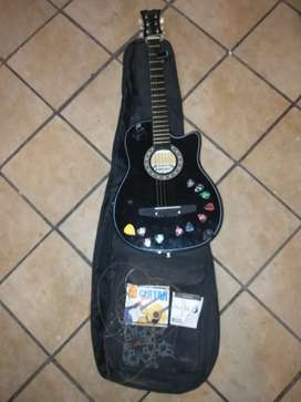 Sanchez S38 acoustic guitar + MusicBox bag, strap, tuners and picks