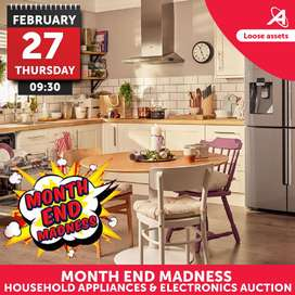 Month End Madness Household Appliances Auction