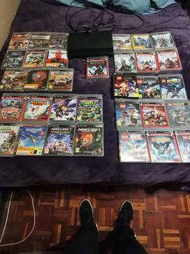 Playstation 3 and 33 games