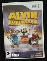Alvin SuperStar Nintendo Wii