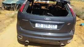 Parts of Ford Focus 2.5st
