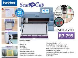 Brother ScanNCut SDX1200 -Home,Hobby, Small Busine