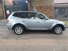 2006 BMW X3, automatic, 82,000km, leather seat, spare key, sun roof