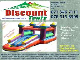 Jumping Castles available all sizes
