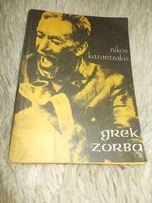 """Grek Zorba""-Nikos Kazantzakis- powieść"