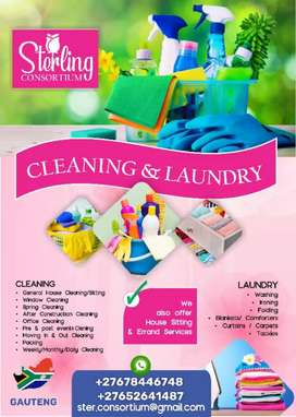 Cleaning and Laundry Services
