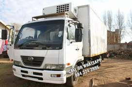 2009 Nissan ud 60 6ton truck up for grabs