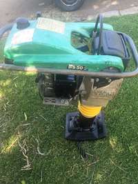 PAY LESS ON this second hand wacker rammer for sale  South Africa