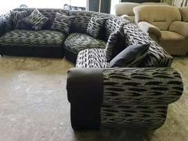 New curved lounge suite