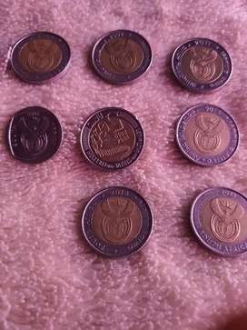 Am selling some mandela and other coins