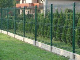 Ogrodzenie panelowe 1.23m x 2.50m drut 4mm ocynk malowany proszkowo.