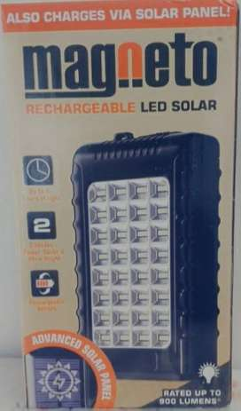 MAGNETO RECHARGEABLE LED SOLAR