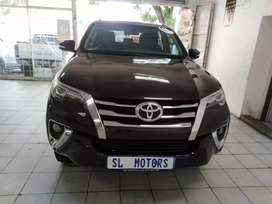 2017 Toyota fortuner 2.4 gd6