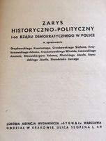 Zarys HISTORYCZNO POLITYCZNY 1-go rzadu w Polsce