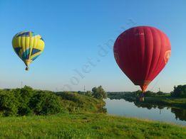 Полетать на воздушном шаре в Днепре и в Украине. Роскошный подарок!